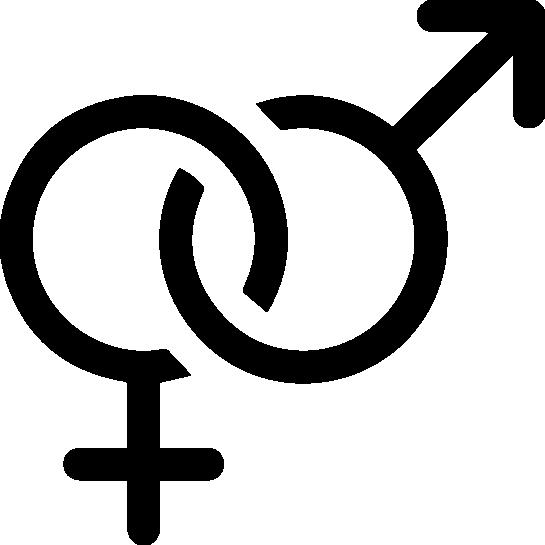 simbolos masculino feminino